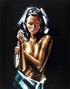 Artist Michael Fitzgerald | Female Figurative Artist